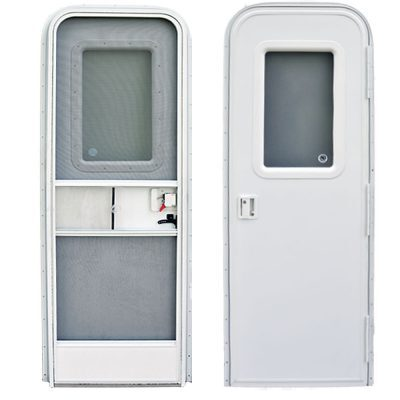 """Dexter"" RV Doors with Radial Corners"