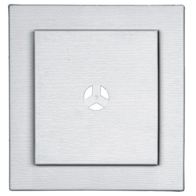 Mount Master Vinyl Mount For Exterior Light Fixture White