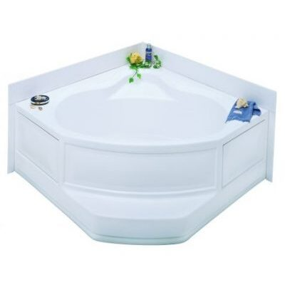 """54"""" Corner Tubs and Surrounds"""