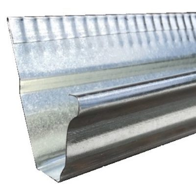 Amerimax Galvanized Steel Mini Gutter 10 Length R G Supply Inc